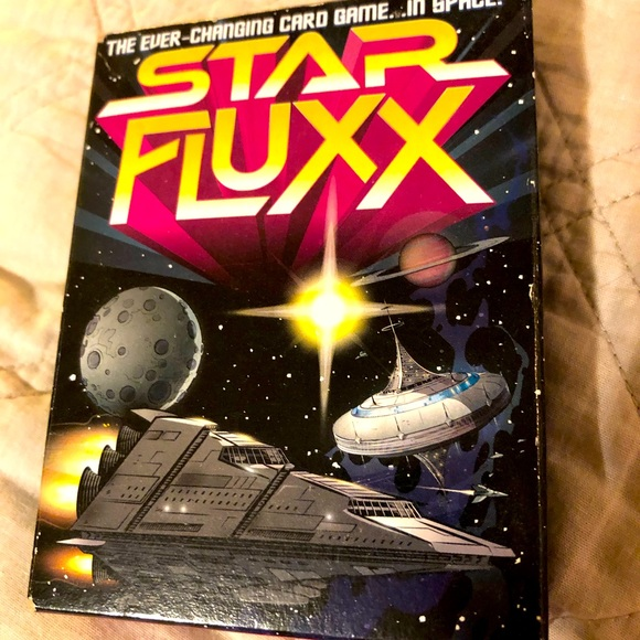 Used Star Fluxx card game